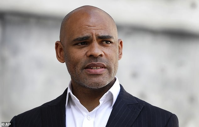 A picture of Bristol's Mayor Marvin Rees