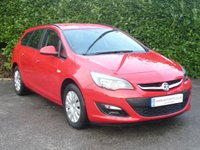2013 VAUXHALL ASTRA 1.7 EXCLUSIVE CDTI ESTATE  5d 110 BHP £6450.00