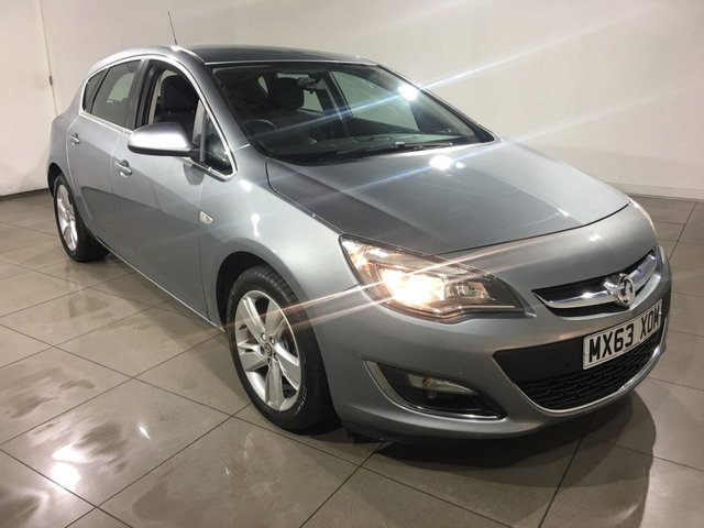 View our 2013 63 VAUXHALL ASTRA 1.6 SRI 5d AUTO 115 BHP