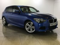 USED 2013 63 BMW 1 SERIES 2.0 116D M SPORT 5d AUTO 114 BHP One Owner From New