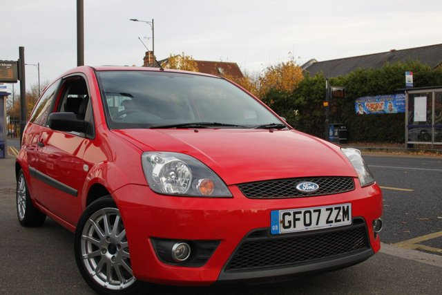 2007 07 FORD FIESTA 1.6 Zetec S Red 3dr