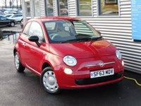 2013 FIAT 500 1.2 POP 3d 69 BHP £5450.00