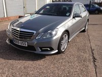 USED 2009 09 MERCEDES-BENZ E CLASS 3.0 E350 CDI BLUEEFFICIENCY SPORT 4d AUTO 231 BHP Sat Nav, Service History, Bluetooth, Leather.