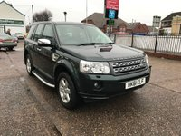 USED 2012 61 LAND ROVER FREELANDER 2 2.2 TD4 GS 5d AUTO 150 BHP Side Steps, Full Service History. 1 Owner