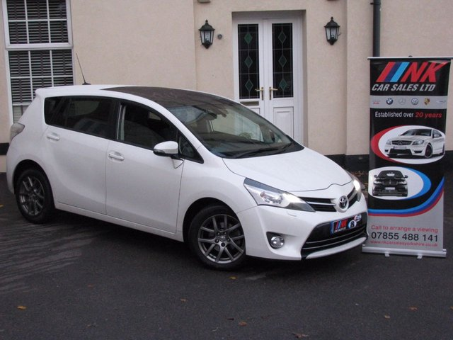 2013 63 TOYOTA VERSO 2.0 EXCEL D-4D 5d 122 BHP SOLD SOLD DELIVERING IN SHEFFIELD