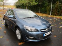 2014 VAUXHALL ASTRA 1.7 EXCITE CDTI 5d 108 BHP £SOLD