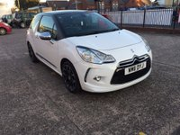 USED 2011 11 CITROEN DS3 1.6 HDI DSPORT PLUS 3d 110 BHP Full Service History- £20 Per Year Road Tax-Leather Interior