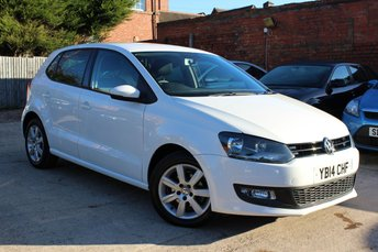 2014 VOLKSWAGEN POLO 1.2 MATCH EDITION TDI 5d 74 BHP £8495.00