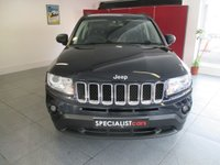 2011 JEEP COMPASS 2.1 CRD LIMITED 4WD 5d 161 BHP £11495.00