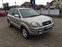 USED 2007 56 HYUNDAI TUCSON 2.0 LIMITED 5d 139 BHP Full Service History, Leather Interior, Heated Seats
