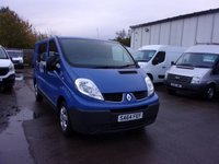 USED 2014 64 RENAULT TRAFIC 2.0 SL27 DCI S/R W/V 1d 115 BHP MANUFACTURERS WARRANTY TILL 22-09-2018