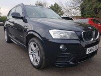 2012 BMW X3 2.0 XDRIVE20D M SPORT 5d AUTO 181 BHP £16331.00