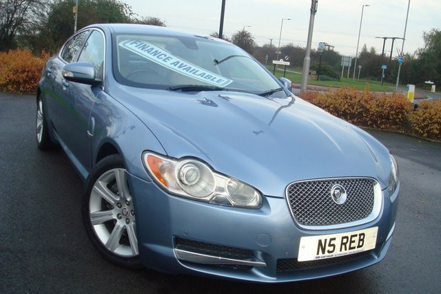 2008 08 JAGUAR XF 2.7 LUXURY V6 4d AUTO 204 BHP
