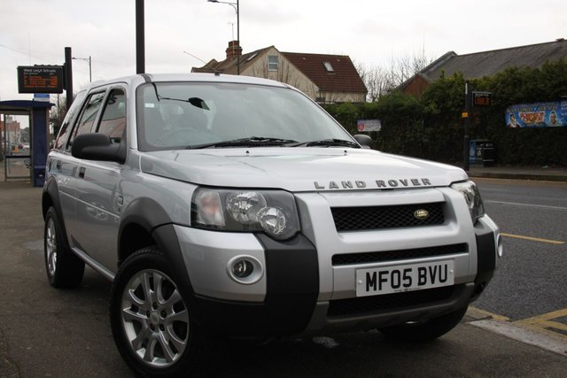 2005 05 LAND ROVER FREELANDER 2.0 TD4 S STATION WAGON 5d AUTO 110 BHP