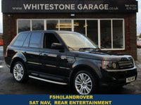 USED 2012 61 LAND ROVER RANGE ROVER SPORT 3.0 SDV6 HSE 5d AUTO 255 BHP FACELIFT MODEL WITH NEWER GEAR SHIFT, REAR ENTERTAINMENT,