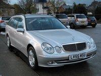 2005 MERCEDES-BENZ E CLASS E220 CDI AVANTGARDE 5d AUTO ESTATE £4495.00