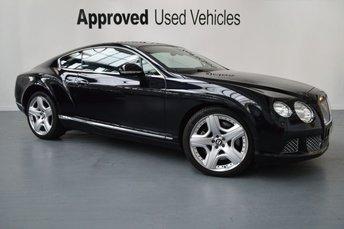 2012 BENTLEY CONTINENTAL GT 6.0 GT MDS 2d AUTO 567 BHP £71950.00