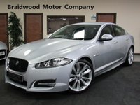 USED 2011 61 JAGUAR XF 3.0 V6 S PORTFOLIO 4d AUTO 275 BHP Nav,Reverse Camera,Leather