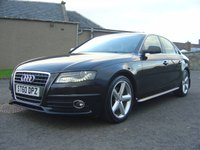 USED 2010 60 AUDI A4 2.0 TDI S LINE SPECIAL EDITION 4d 141 BHP HALF LEATHER