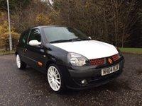 2004 RENAULT CLIO 1.1 EXTREME 3 16V 3d 75 BHP £757.00