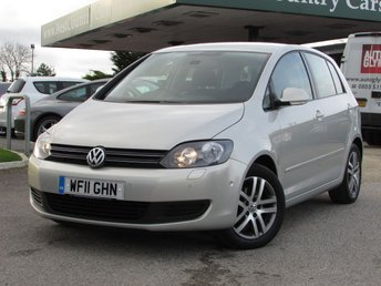 2011 VOLKSWAGEN GOLF PLUS 1.6 BLUEMOTION SE TDI 5d 103 BHP £6000.00