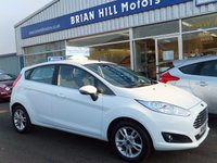 2014 FORD FIESTA 1.25i ZETEC 5d  (3,000mls.only) One lady owner  £8495.00