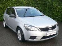 2011 KIA CEED 1.6 1 5d AUTO 124 BHP £4999.00