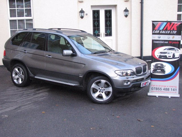 2006 06 BMW X5 3.0 D SPORT 5d AUTO 215 BHP HISTORY SAT NAV RESERVED FOR SIMON FROM NEWARK