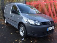 2013 VOLKSWAGEN CADDY MAXI 1.6 C20 TDI 102 IN PURE GREY FACTORY SAT NAV AIR CON FSH £7995.00