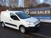 2012 CITROEN BERLINGO 1.6 850 ENTERPRISE L1 HDI 90BHP AIR CON FSH ONE OWNER £4995.00