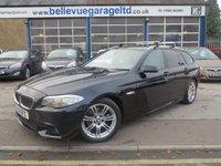 2011 BMW 5 SERIES 2.0 520D M SPORT TOURING 5d AUTO 181 BHP £14995.00