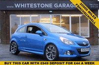 USED 2014 63 VAUXHALL CORSA 1.6 VXR 3d 189 BHP A STUNNING UNMOLESTED LOW MILES VXR