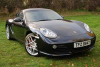 USED 2009 PORSCHE CAYMAN 3.4S 24v [987] PDK [320 BHP] * VERY LOW MILES * FPSH *