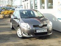 2010 TOYOTA AURIS 1.6 TR VVT-I MM 3d AUTO 122 BHP £4480.00