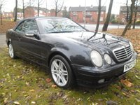 USED 2002 02 MERCEDES-BENZ CLK 3.2 CLK320 AVANTGARDE 2d 218 BHP