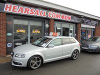 2010 AUDI A3 2.0 SPORTBACK TDI S LINE SPECIAL EDITION 5d 138 BHP £7000.00