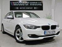 2012 BMW 3 SERIES 2.0 318D SE IN ALPINE WHITE 4d 141 BHP £11980.00