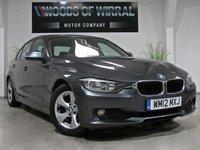 2012 BMW 3 SERIES 2.0 320D EFFICIENTDYNAMICS 4d 161 BHP £8980.00