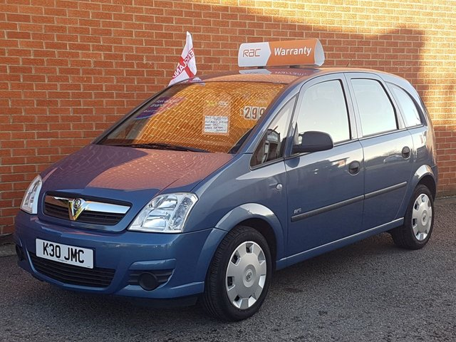 2007 VAUXHALL MERIVA 1.4 LIFE 16V TWINPORT 5 Door SUPERB CONDITION