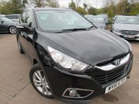 USED 2012 61 HYUNDAI IX35 2.0 PREMIUM CRDI 4WD 5d 134 BHP excellent value