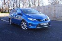 2014 TOYOTA AURIS 1.8 VVT-I EXCEL 5d AUTO 98 BHP £13500.00