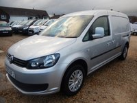 2013 VOLKSWAGEN CADDY MAXI 1.6 C20 TDI TRENDLINE BMT 102 BHP WITH REAR TAILGATE  £8495.00
