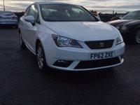 2012 SEAT IBIZA 1.2 CR TDI ECOMOTIVE SE 3d 74 BHP £5995.00