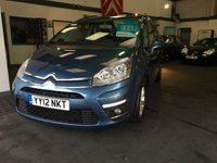2012 CITROEN C4 PICASSO 1.6 GRAND VTR PLUS HDI 5d 110 BHP £7395.00