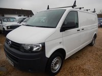 2012 VOLKSWAGEN TRANSPORTER T30 2.0TDI 102 BHP LWB 69479 MILES ONLY £10995.00