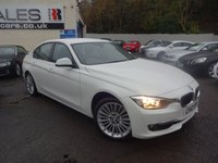 USED 2012 12 BMW 3 SERIES 2.0 320D LUXURY 4d AUTO 184 BHP NATIONALLY PRICE CHECKED DAILY