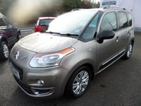 2009 CITROEN C3 PICASSO 1.6 PICASSO EXCLUSIVE HDI 5d 90 BHP CLIMATE, CRUISE, AUTO LIGHTS £4695.00