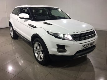 2012 LAND ROVER RANGE ROVER EVOQUE 2.2 SD4 PURE TECH 3d 190 BHP £19990.00