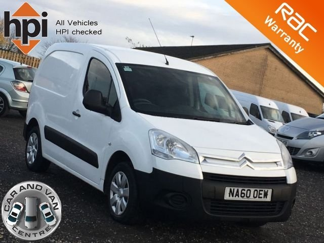 2010 60 CITROEN BERLINGO 1.6 625 LX L1 HDI