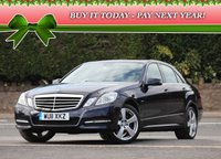 USED 2011 11 MERCEDES-BENZ E CLASS 2.1 E250 CDI BlueEFFICIENCY Avantgarde 4dr SOLD!
